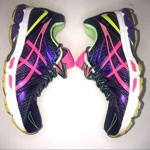 Asics Exalt Gel T379Q Running Sneakers Purple 8